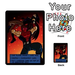 Sentinels 54 Card Promos By Sasha   Multi Purpose Cards (rectangle)   07y5jdkks28u   Www Artscow Com Back 47