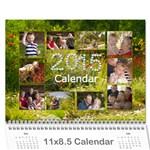 se - Wall Calendar 11  x 8.5  (12-Months)
