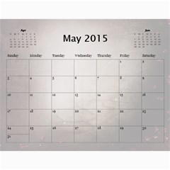 Se By Yvonne Cavill   Wall Calendar 11  X 8 5  (12 Months)   Jqiso9fxi1ck   Www Artscow Com May 2015