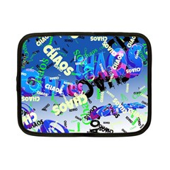 Pure Chaos Netbook Sleeve (small) by StuffOrSomething