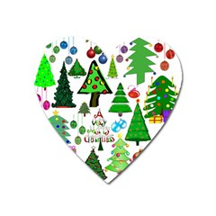 Oh Christmas Tree Magnet (Heart) by StuffOrSomething