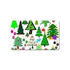 Oh Christmas Tree Magnet (name Card) by StuffOrSomething
