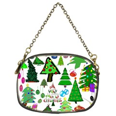 Oh Christmas Tree Chain Purse (two Sided)  by StuffOrSomething