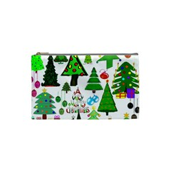 Oh Christmas Tree Cosmetic Bag (small) by StuffOrSomething