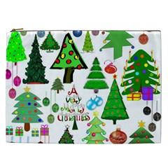 Oh Christmas Tree Cosmetic Bag (xxl) by StuffOrSomething