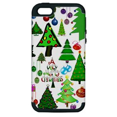Oh Christmas Tree Apple Iphone 5 Hardshell Case (pc+silicone) by StuffOrSomething