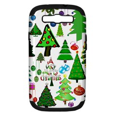 Oh Christmas Tree Samsung Galaxy S Iii Hardshell Case (pc+silicone) by StuffOrSomething