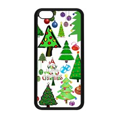 Oh Christmas Tree Apple Iphone 5c Seamless Case (black) by StuffOrSomething