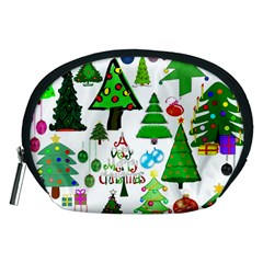 Oh Christmas Tree Accessory Pouch (medium) by StuffOrSomething