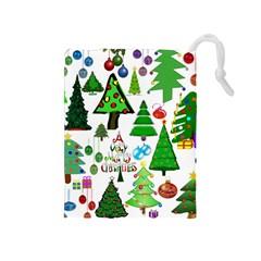 Oh Christmas Tree Drawstring Pouch (Medium)