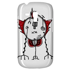 Alien Robot Hand Draw Illustration Samsung Galaxy S3 Mini I8190 Hardshell Case by dflcprints