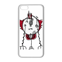 Alien Robot Hand Draw Illustration Apple Iphone 5c Seamless Case (white) by dflcprints