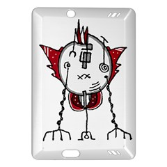 Alien Robot Hand Draw Illustration Kindle Fire Hd (2013) Hardshell Case by dflcprints