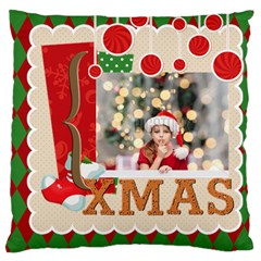Xmas By Xmas4   Large Cushion Case (two Sides)   B3gfkn4d5hb6   Www Artscow Com Front