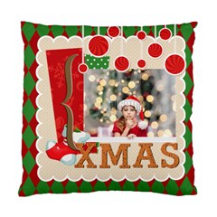 Xmas By Xmas4   Standard Cushion Case (two Sides)   Jt83jl6t32hz   Www Artscow Com Front