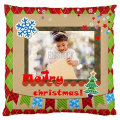 Xmas By Xmas4   Large Cushion Case (two Sides)   C5u6lwwexcym   Www Artscow Com Back
