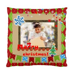 Xmas By Xmas4   Standard Cushion Case (two Sides)   Sw3i9ai271e7   Www Artscow Com Back