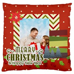 Xmas By Xmas4   Large Cushion Case (two Sides)   7iqvktmp71j4   Www Artscow Com Front