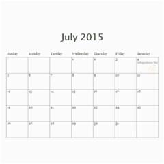 Laylas 2015 Calendar By Katy   Wall Calendar 11  X 8 5  (12 Months)   K54t8h6f5k23   Www Artscow Com Jul 2015