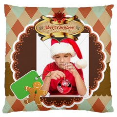 Xmas By Xmas4   Large Cushion Case (two Sides)   Qmdmpw3uk7dq   Www Artscow Com Back