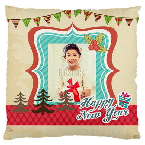 Xmas By Xmas4   Large Cushion Case (one Side)   N5fwzc61a61u   Www Artscow Com Front