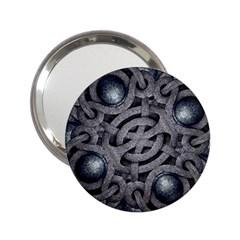 Mystic Arabesque Handbag Mirror (2 25 ) by dflcprints