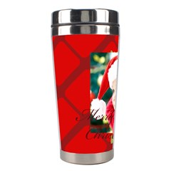 Xmas By Xmas   Stainless Steel Travel Tumbler   Ot99uczos1vj   Www Artscow Com Left
