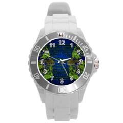 Binary Communication Plastic Sport Watch (large) by StuffOrSomething