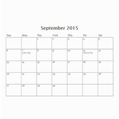 Mad By Roberta   Wall Calendar 8 5  X 6    Orccws39eit1   Www Artscow Com Sep 2015