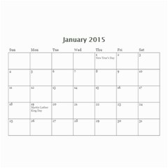 Mad By Roberta   Wall Calendar 8 5  X 6    Orccws39eit1   Www Artscow Com Jan 2015