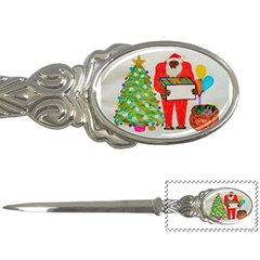 Blemmyes Father Christmas, Letter Opener by creationtruth