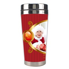 Xmas By Xmas   Stainless Steel Travel Tumbler   J9sypocaxsip   Www Artscow Com Left