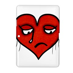 Sad Heart Samsung Galaxy Tab 2 (10 1 ) P5100 Hardshell Case  by dflcprints