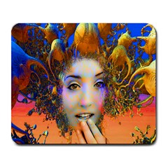 Organic Medusa Large Mouse Pad (rectangle) by icarusismartdesigns