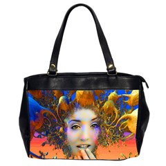 Organic Medusa Oversize Office Handbag (two Sides) by icarusismartdesigns