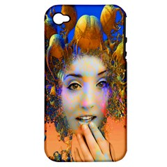 Organic Medusa Apple Iphone 4/4s Hardshell Case (pc+silicone) by icarusismartdesigns