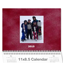Calendar 2015 By Janet Andreasen   Wall Calendar 11  X 8 5  (12 Months)   Orba7o2v3won   Www Artscow Com Cover