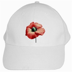 Your Flower Perfume White Baseball Cap by dflcprints