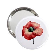 Your Flower Perfume Handbag Mirror (2 25 ) by dflcprints