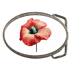 Your Flower Perfume Belt Buckle (oval) by dflcprints