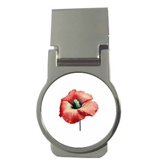 Your Flower Perfume Money Clip (round) by dflcprints