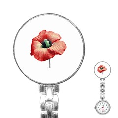 Your Flower Perfume Stainless Steel Nurses Watch by dflcprints