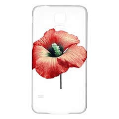 Your Flower Perfume Samsung Galaxy S5 Back Case (white) by dflcprints
