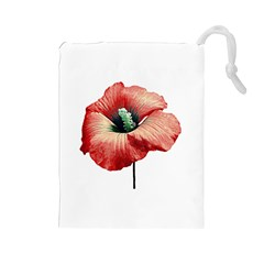 Your Flower Perfume Drawstring Pouch (large) by dflcprints