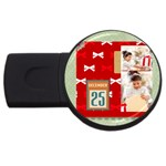 xmas - USB Flash Drive Round (4 GB)