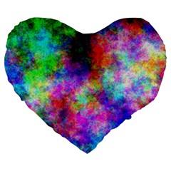 Plasma 26 19  Premium Heart Shape Cushion by BestCustomGiftsForYou