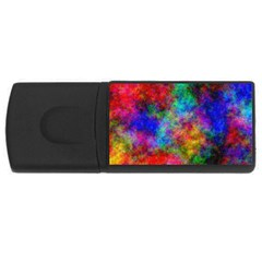 Plasma 27 4gb Usb Flash Drive (rectangle) by BestCustomGiftsForYou