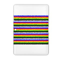 Horizontal Basic Colors Curly Stripes Samsung Galaxy Tab 2 (10 1 ) P5100 Hardshell Case  by BestCustomGiftsForYou