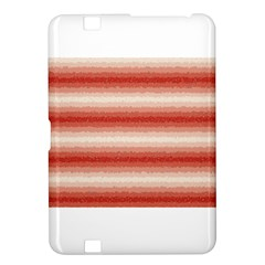 Horizontal Red Curly Stripes Kindle Fire Hd 8 9  Hardshell Case by BestCustomGiftsForYou