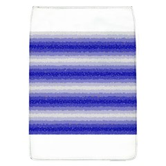 Horizontal Dark Blue Curly Stripes Removable Flap Cover (large) by BestCustomGiftsForYou